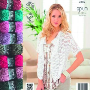 Ladies Cardigan Opium Knit Bundle