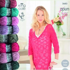 Ladies V Neck and Boat Neck Sweaters Opium Knit Bundle