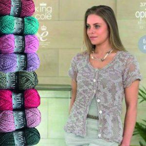 Ladies Cardigan Opium Knit Bundle