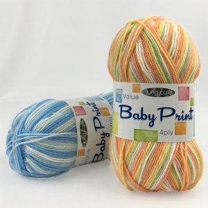 King Cole Baby Print 4 Ply Yarn