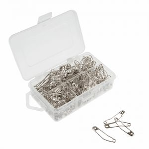 Curved Safety Pins – 38mm – 150 Pieces