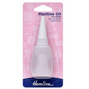 Hemline Sewing Machine Oil – 20ml