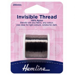 Hemline Invisible Thread – Smoke – 200m