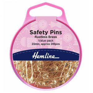 Safety Pins Value Pack – 23mm – 200 Pieces