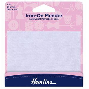 Hemline Iron-On Polycotton Patch – 24 x 9cm