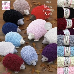 King Cole Funny Yummy Hedgehog Bundle