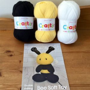 James Brett Knitted Bee Bundle