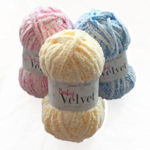 James Brett Baby Velvet Chunky Yarn