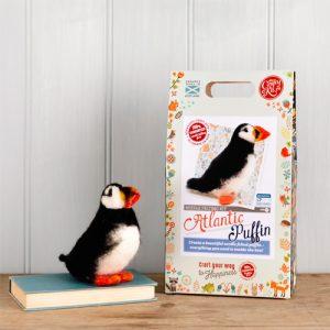 The Crafty Kit Co – Atlantic Puffin Needle Felting Kit
