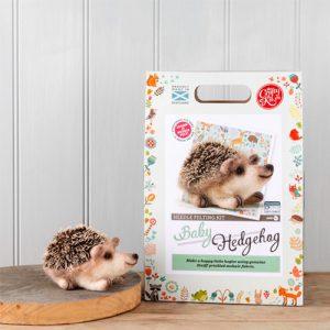 The Crafty Kit Co – Baby Hedgehog Needle Felting Kit