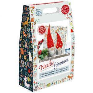 The Crafty Kit Co – Nordic Gnomes Needle Felting Kit