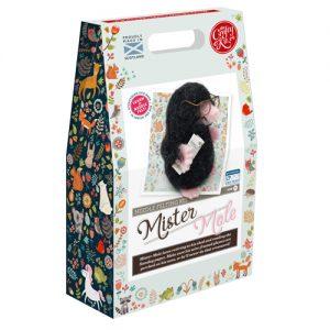 The Crafty Kit Co -Mr Mole Needle Felting Kit