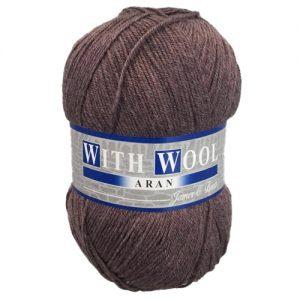 James Brett With Wool Aran Yarn