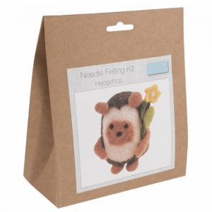 Needle Felting Kit – Hedgehog