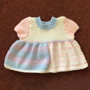Little Girls Cap Sleeve Dress