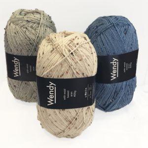 Wendy Wool Aran Tweed